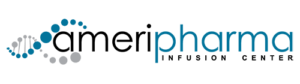 AmeriPharma infusion center logo with transparent background